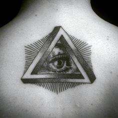 60 Penrose Triangle Tattoo Designs For Men - Impossible Tribar Ideas All Tattoos, Tattoos For Guys, Tattos, Masonic Tattoos, Penrose Triangle, Triangle Tattoo Design, Creepy Art, Freemasonry, Symbolic Tattoos