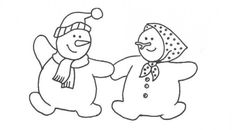 snowman coloring pages picture 2 holiday fun snowman coloring pages for kids - Snowman Color Pages 2