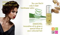 #Fashion for #bestHairdresser DIAMOND #innovative oil to give #SpecialShine at #yourColoredHair by @Xtro Srl Xtro