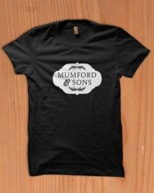 mumford and sons plaque tour rock mercus sigh no ore indie folk hot t-shirt