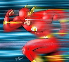 PARDO DIBUJOS: THE FLASH