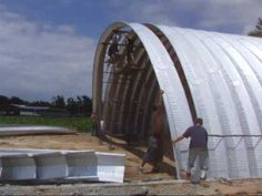 quonset hut houses | Learn and talk about Quonset hut, American architecture, Barracks ...