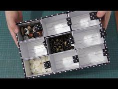 DIY Organizador de miudezas para artesanato ✂️ Artesanato #NãoéCópia mas #PodeCopiar - YouTube