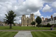 View of Wells Cathedral, Somerset