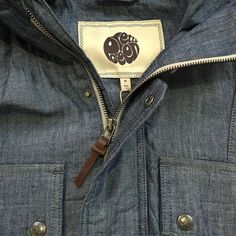 The @prettygreenltd 'Tarbet' chambray hooded jacket is a cracking summer jacket. It is now 99 in our sale down from 165. Head over to the website to have a look or pop into the shop today for a butchers.  #prettygreen #tarbet #chambray #jacket #outerwear #menswear #mensfashion #mensstyle #philipbrownemenswear #sale