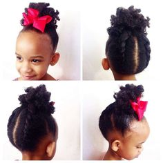 Children Hairstyles For Natural Hair 1000+ Images About African Princess   Little Black Girl Natural