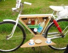 Cool bike storage via Carol's Country Sunshine on Facebook