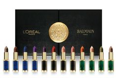 L'Oréal Paris x Balmain collezione 12 nuovi rossetti by Color Riche
