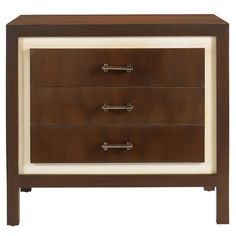 Buy Lakecrest Bedside Chest from Edward Ferrell + Lewis Mittman on Dering Hall
