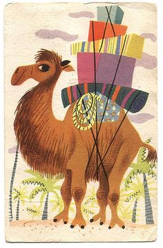 Mary Blair Golden Books postcard | Flickr - Photo Sharing!