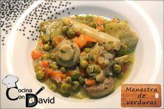 Menestra de verduras (de bote)