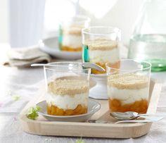 Falscher Aprikosen-Käsekuchen im Glas - Sommer-Rezepte: Fingerfood - 16 - [ESSEN & TRINKEN]