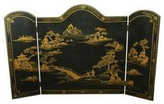 asian fireplace accessories by Oriental Furniture