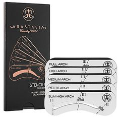 Anastasia Brow Stencils - 4 Easy Steps to the Perfect Eyebrows