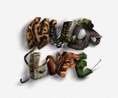 Create Animal Textured Typography - Tuts+ Design & Illustration Tutorial