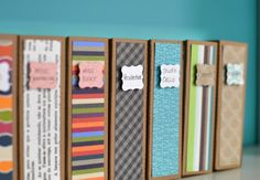 amazing idea to Organize Project Life Cards from @Melissa Squires Squires Squires Squires Whittaker