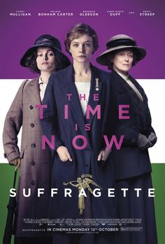 ''Suffragette' UK Theatrical Poster, film starring Meryl Streep, Carey Mulligan and Helena Bonham Carter Helena Bonham Carter, Helen Bonham, Hd Movies, Movies And Tv Shows, Movie Tv, 2015 Movies, Movies Free, Watch Movies, Movie Theater