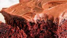 The ultimate in moist chocolate cakes, this Sour Cream Chocolate Cake is a great take-along dessert for picnics and potlucks. Top with sour cream frosting. Triple Chocolate Bundt Cake Recipe, Sour Cream Chocolate Cake, Hot Chocolate Cupcakes, Chocolate Diy, Mexican Hot Chocolate, Chocolate Ganache, Sour Cream Frosting, Whipped Cream Icing, Sour Cream Cake