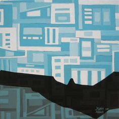 marla allison (laguna pueblo), changed perspective, 14'h x 14'w, acrylic on canvas.