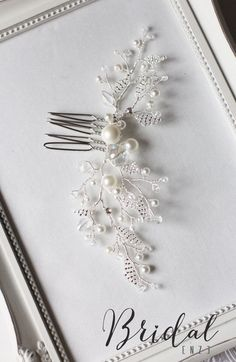 Hey, I found this really awesome Etsy listing at https://www.etsy.com/listing/226674407/wedding-hair-comb-bridal-hair-comb