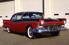 Power by Ford (Ford, Mercury, Edsel, Lincoln): High-Performance 1957 Ford Fairlane 500s