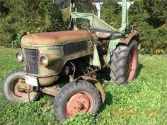 Fendt Farmer 2 Teileträger nicht fahrbereit, Tractoare Fendt Farmer, Second Hand, Tractors, Antique Cars