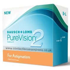 Purevision 2 HD (High Definition) for Astigmatism