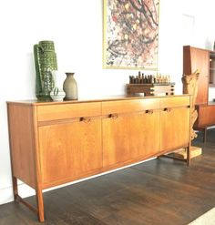 Retro/Vintage dressoir, merk: Nathan Furniture, late sixties