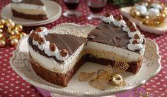 FOTOpostup: Jadranská torta s orieškovým krémom a šľahačkou | DobreJedlo.sk