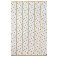 Tapis 100% en laine 170 x 250 cm Brita Sweden - Pine