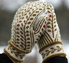 Bilderesultat for smålandsvanten Knitted Mittens Pattern, Knit Mittens, Knitted Gloves, Knitting Socks, Knitting Designs, Knitting Projects, Knitting Patterns, Norwegian Knitting, Fingerless Mitts