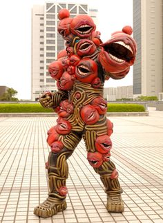 Find high-quality images, photos, and animated GIFS with Bing Images Power Rangers, Samhain, Crazy Costumes, Japanese Monster, Japanese Costume, Scary Monsters, Monster Design, Cosplay, Retro Futurism