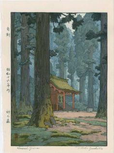 Toshi Yoshida: Sacred Grove, 1942                                                                                                                                                                                 More