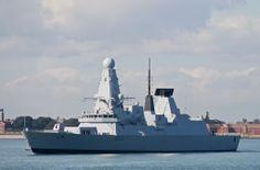 Royal Navy - HMS Dauntless (Type 45 Destroyer)