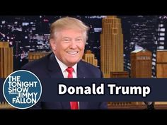 The Tonight Show Starring Jimmy Fallon: Donald Trump Talks Muslims, President Obama and Hillary Clinton