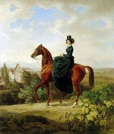 Equine Artist Albrecht Adam on Cavalcade