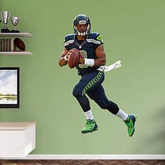 Russell Wilson wall art decal
