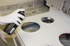 Special paints make changing the color of your stove to match a new decor or to conceal damage easy. The job does have potential pitfalls, however. Using the wrong paint, improperly prepared appliances and bad application techniques will cause the paint to peel. There's no quick fix when this happens. The paint must be removed and the process must...