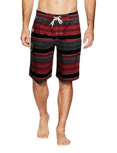 f5e37828e5 Men's Board Shorts Swimwear Stripes Surf Swim Trunks Shorts - 1703 Red -  CZ17YCTDDD6,Men's Clothing, Swim, Board Shorts #men #fashion #style  #outfits #gift ...