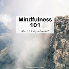 What is mindfulness and why does it matter? Being mindful allows you to be present and fully invested in your life, lowering stress, increasing contentment.