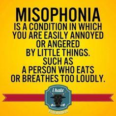Misophonia - http://www.jokideo.com/