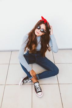 jeans + all star