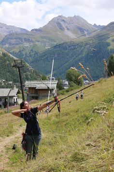 World Archery Field Champions in France! Field Archery, Archery Tips, Field Target, Longbow, Recreational Activities, Tumblr Photography, Bow Hunting, Crossbow, Girls Be Like