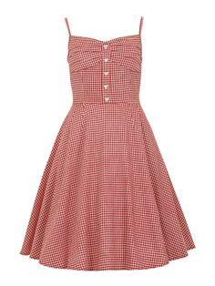 Perfect Picnic Gingham Dress!