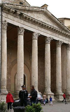 Temple of Minerva - Assisi, Umbria, Italy