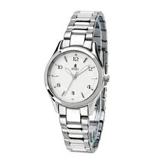 Birks Tradition Collection Stainless Steel Watch for Her