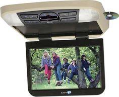 "Audiovox Avxmtg10ua 10"" LED Overhead Monitor w Built-In DVD Player"
