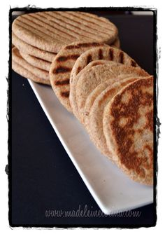 Pan pita integral   Madeleine Cocina