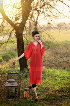 Elegant Summer Dresses Collection 2014 by Zahra Saeed