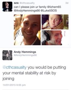 hahahaha, Luke's dad is hilarious!... I'm willing to take the risk.